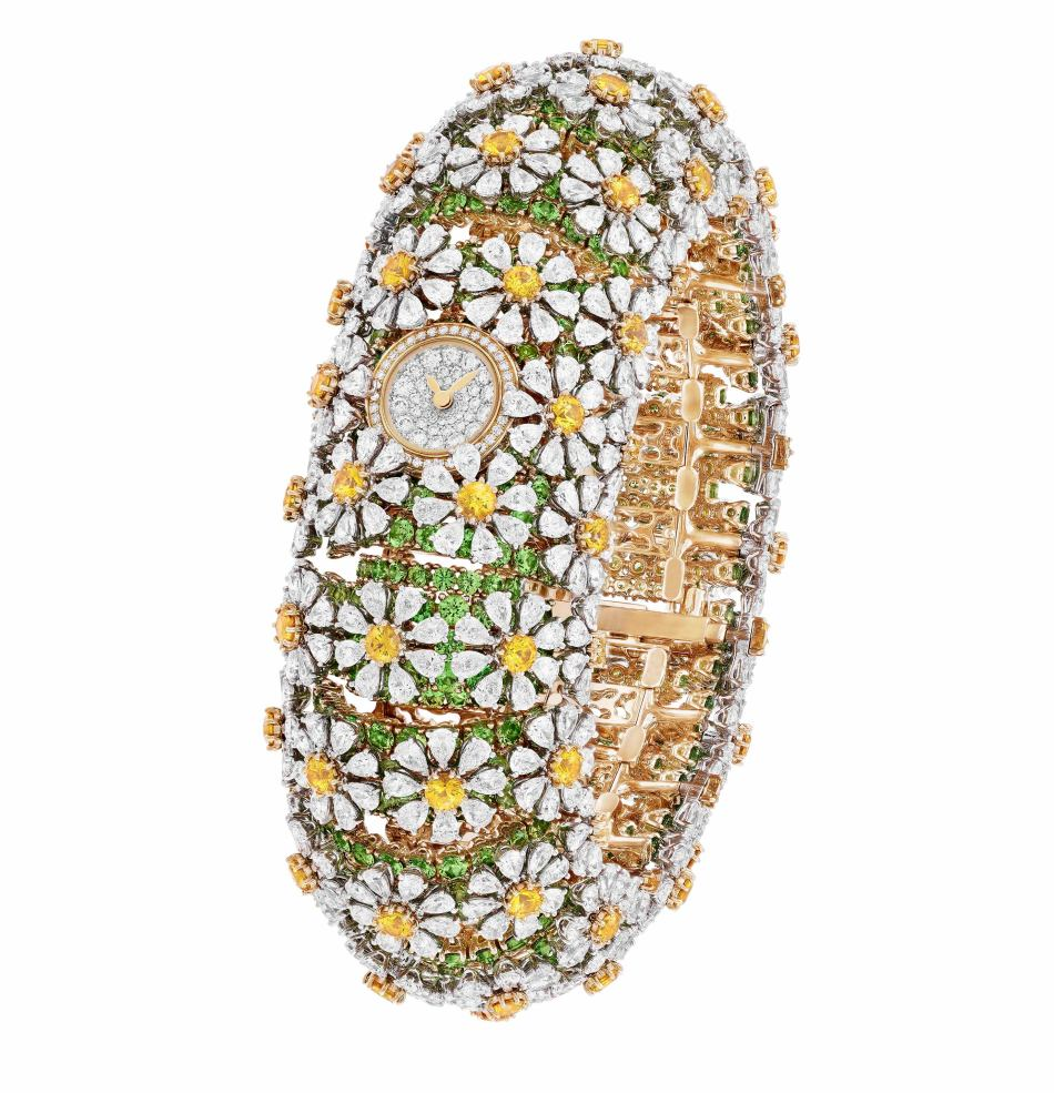 SIHH2018 Le Jardin Van Cleef & Arpels Pâquerette Watch