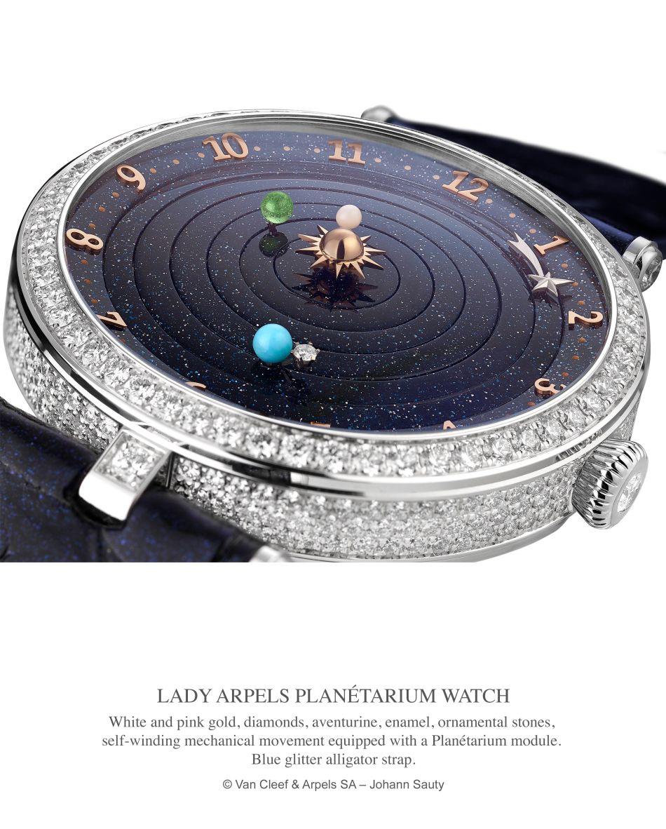 Van Cleef & Arpels Lady Arpels Planétarium