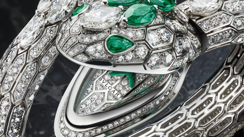 Bulgari Serpenti Misteriosi High Jewellery Watch
