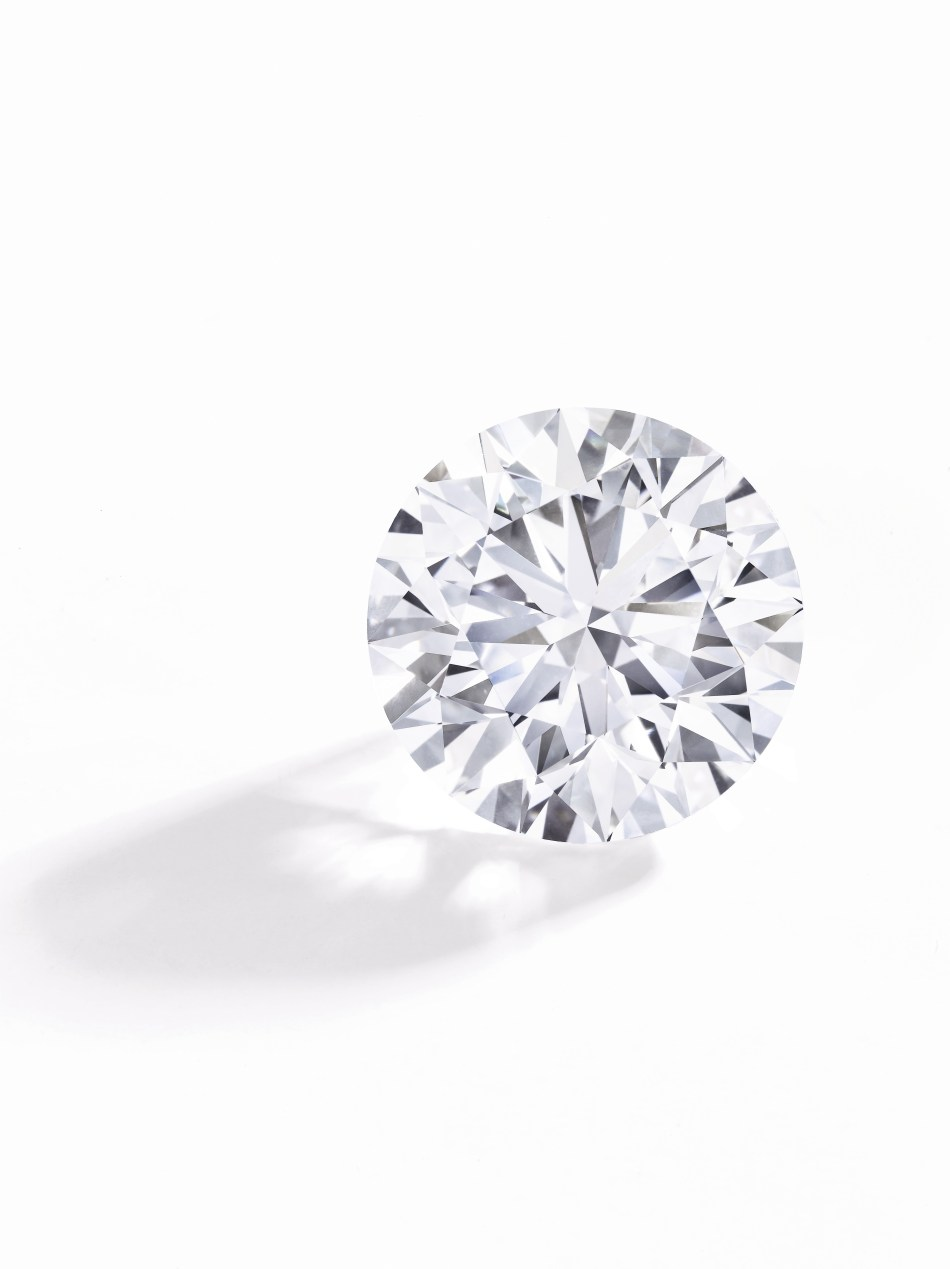 Round brilliant-cut D-Flawless diamond - 50.39 carats - Sotheby's Geneva - May 2018