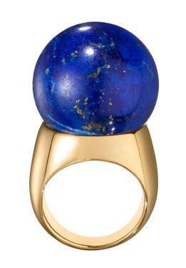 Belmacz - Il Mondo - Lapis Lazuli, 18ct Gold - Eenzegaarteg Stéck