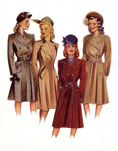 Fashion 1940-1950