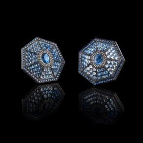 Heptagon earrings - Oselieri-Racine
