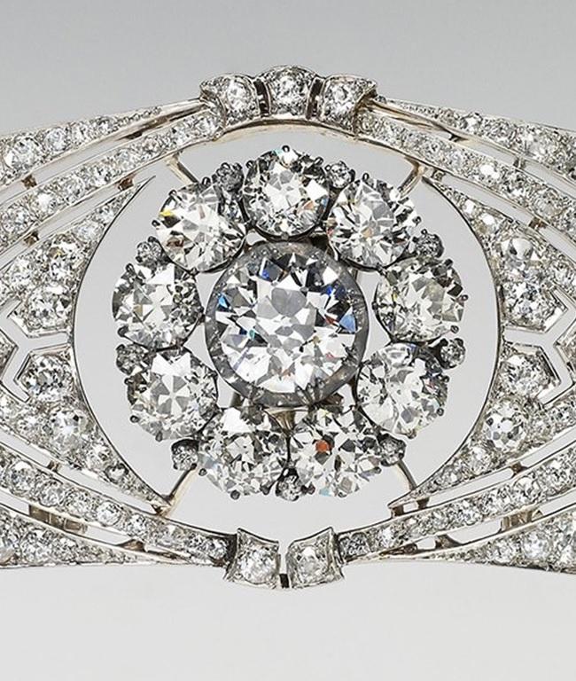 Queen Mary bandeau tiara