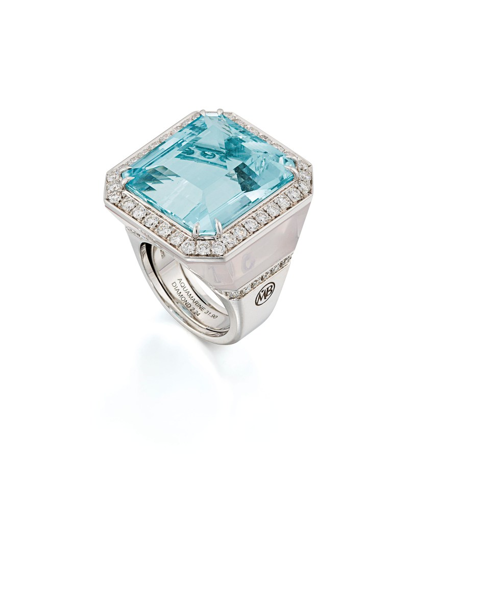 Lot 133 (aquamarine_rose_quartz_and_diamond_dress_ring_margherita_burgener)