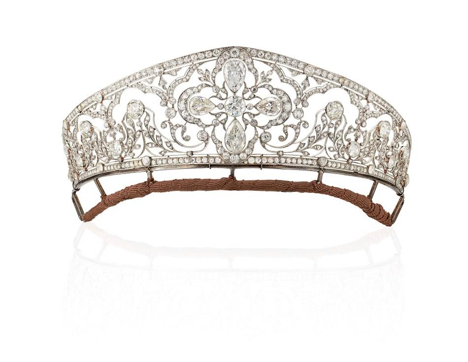 Lot 179_important_belle_epoque_diamond_tiara