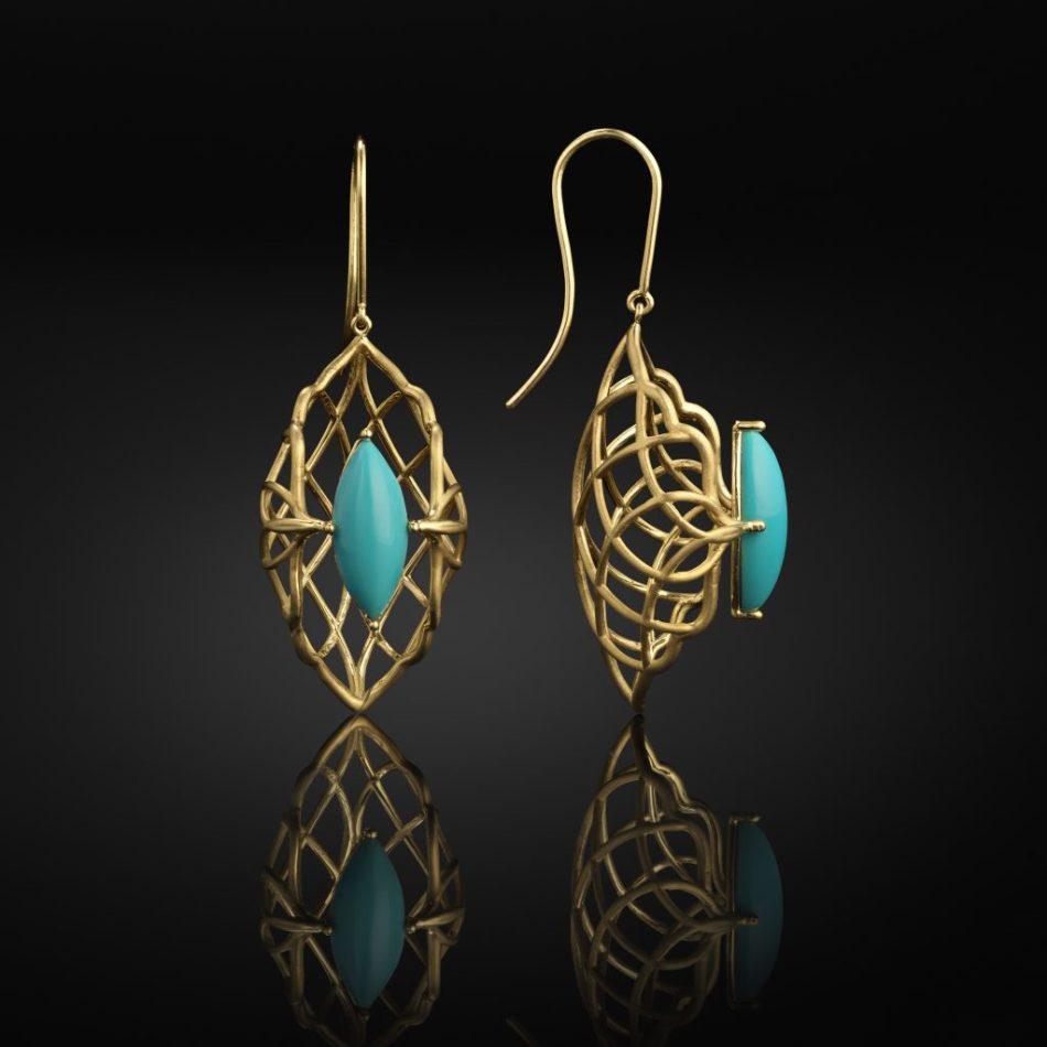 Sara Peymanpour Noor Earrings