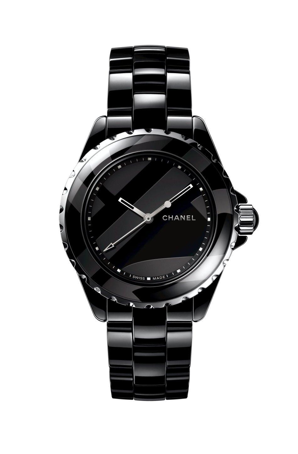 Chanel J12 Untitled Black