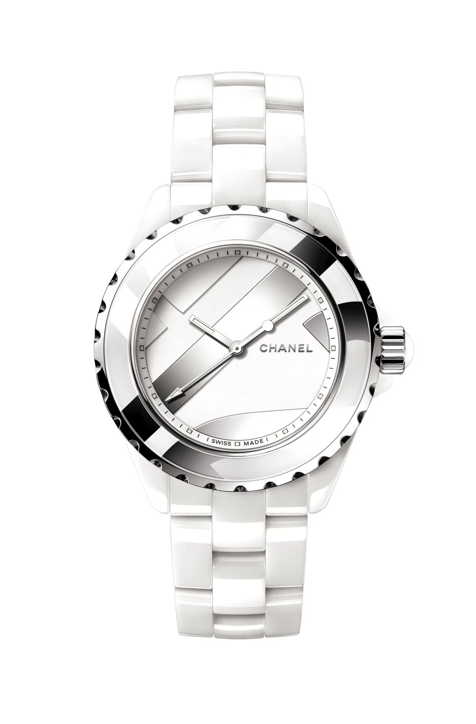Chanel J12 Untitled White