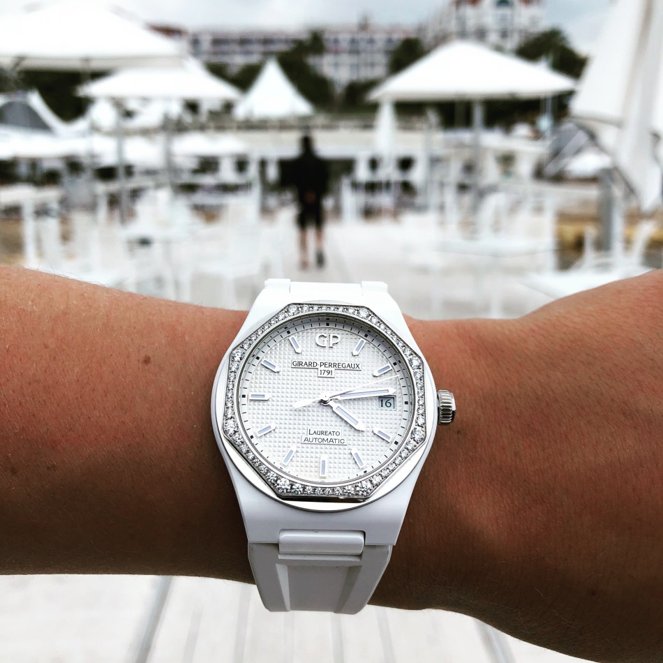 Laureato38mm White Ceramic