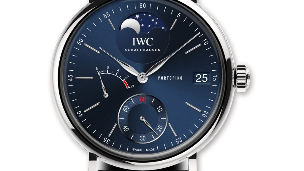IWC Portofino Moon Phase for Laureus F1 Charity Night
