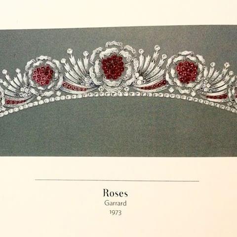 Queen Elizabeth II Burmese Ruby Tiara