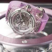 Big Bang One Click Sapphire Diamonds 39 mm
