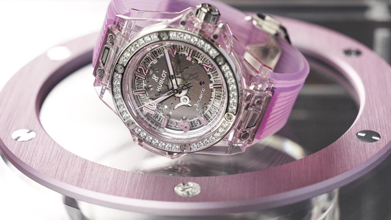 Big Bang One Click Pink Sapphire