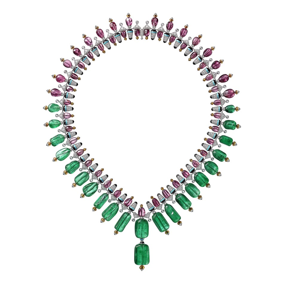 Coloratura by Cartier Chromaphonia necklace