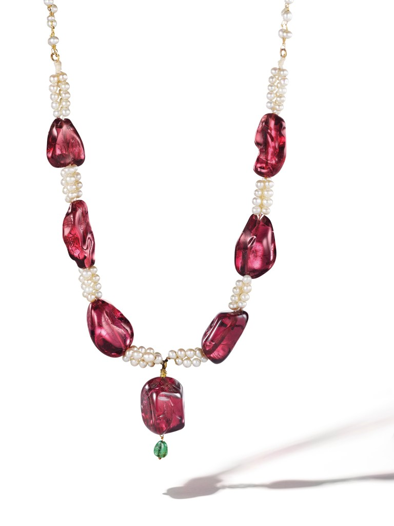 Lot-282_Imperial-Spinel-Necklace
