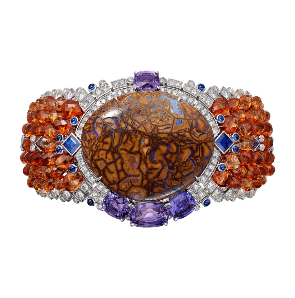 Cartier Magnitude High Jewellery Collection Zemia Bracelet