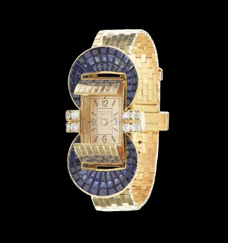 Van Cleef & Arpels. Ludo Wristwatch with Flaps