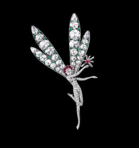 Van Cleef & Arpels. Clip de zână al spiritului frumuseții