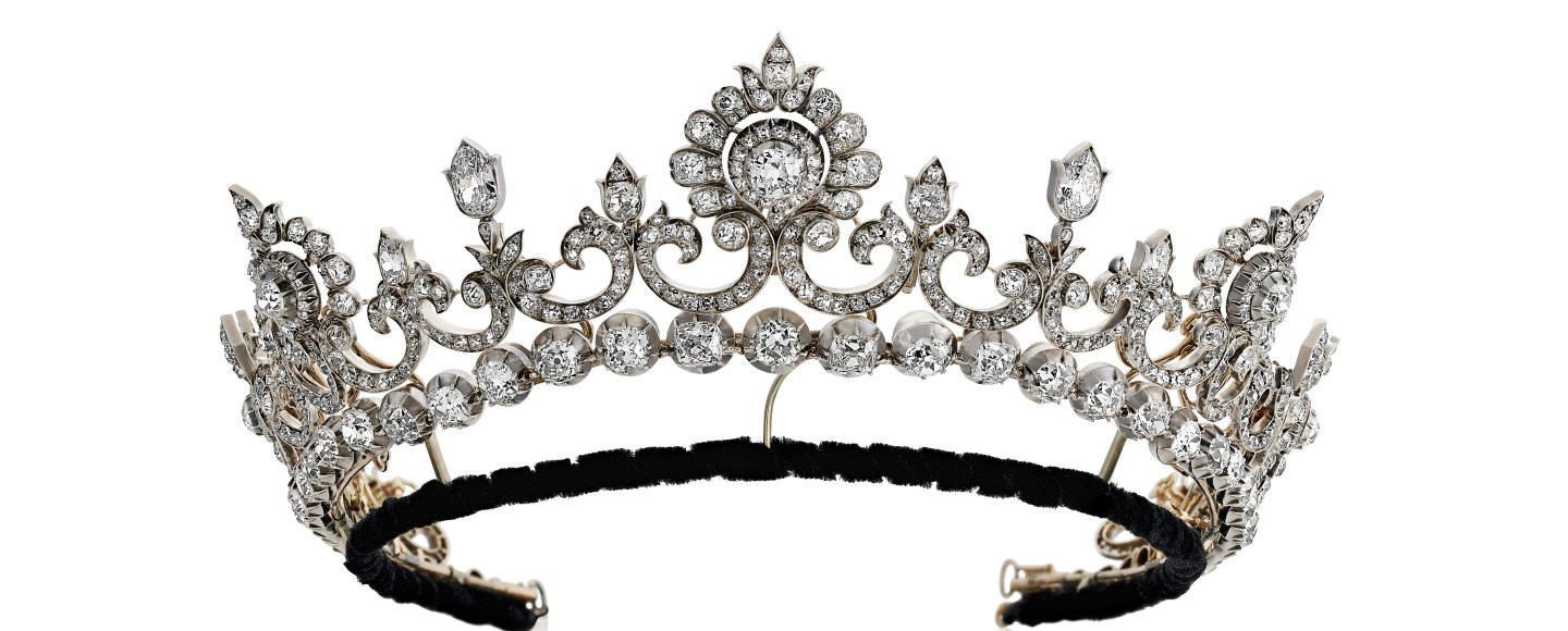 Den Anglesey Tiara. Hancocks London