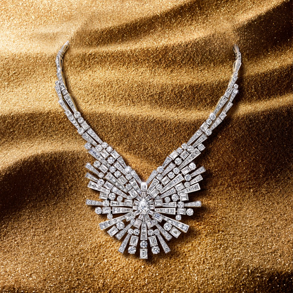Graff Tribal High Jewellery New Dawn motif