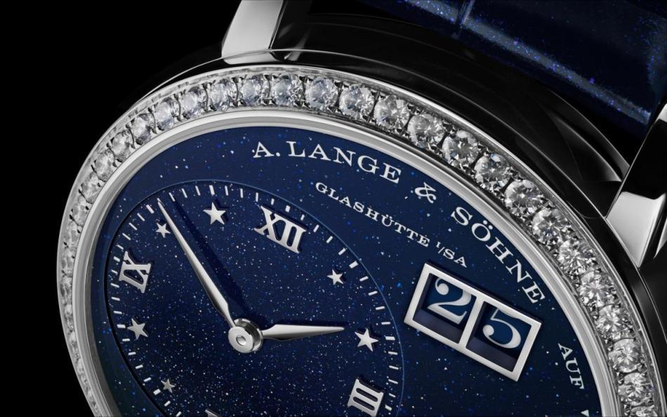 A.Lange &  Söhne  – Little Lange 1 Moon Phase Dark Blue