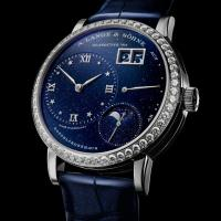 A. Lange & Söhne - Little Lange 1 Moon Phase Dark Blue