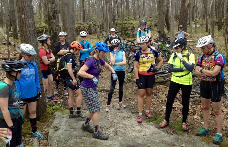 Sue Haywood Mtn Bike Clinic