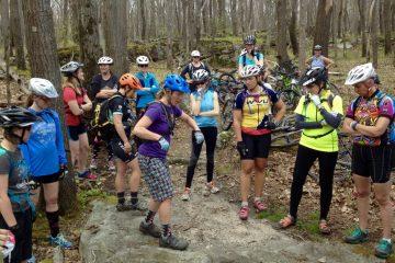 Sue Haywood Mtn Bike Clinic