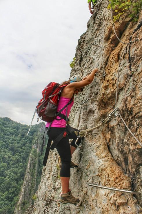 NROCKS Via Ferrata: Nelson Rocks at New Heights