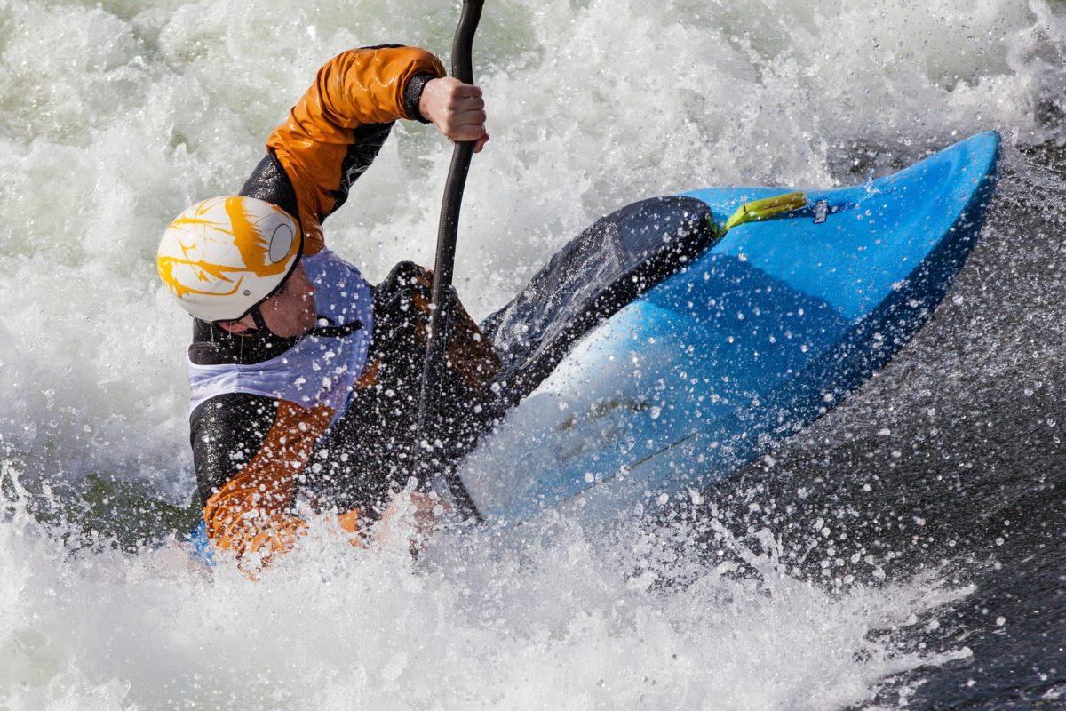 Kayak in WV River