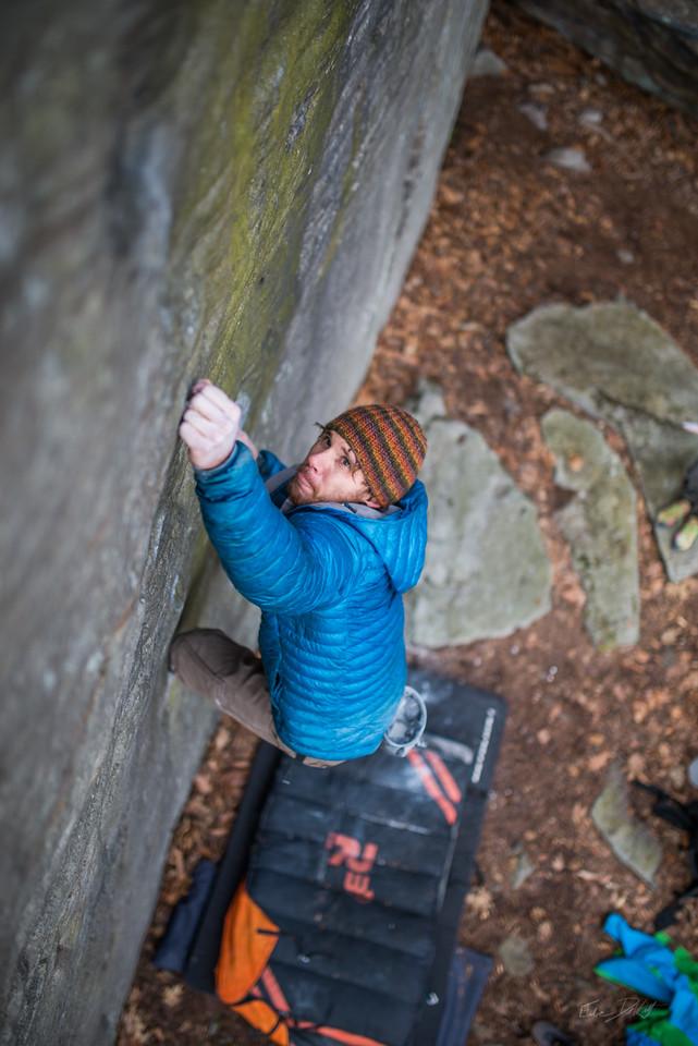 Coopers Rock Bouldering
