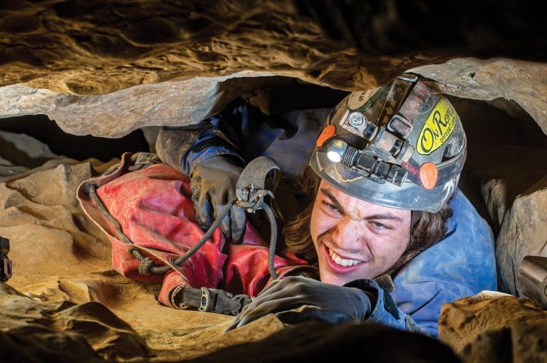 WV Caving: Tight Squeeze