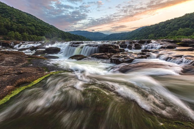 West Virginia Waterfalls: Sandstone Falls