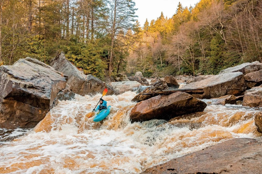 Paddling the Upper Blackwater