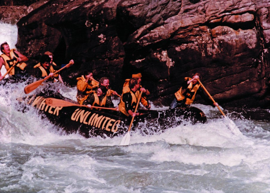 Leading Ladies of West Virginia: Pillow Rock Paddle