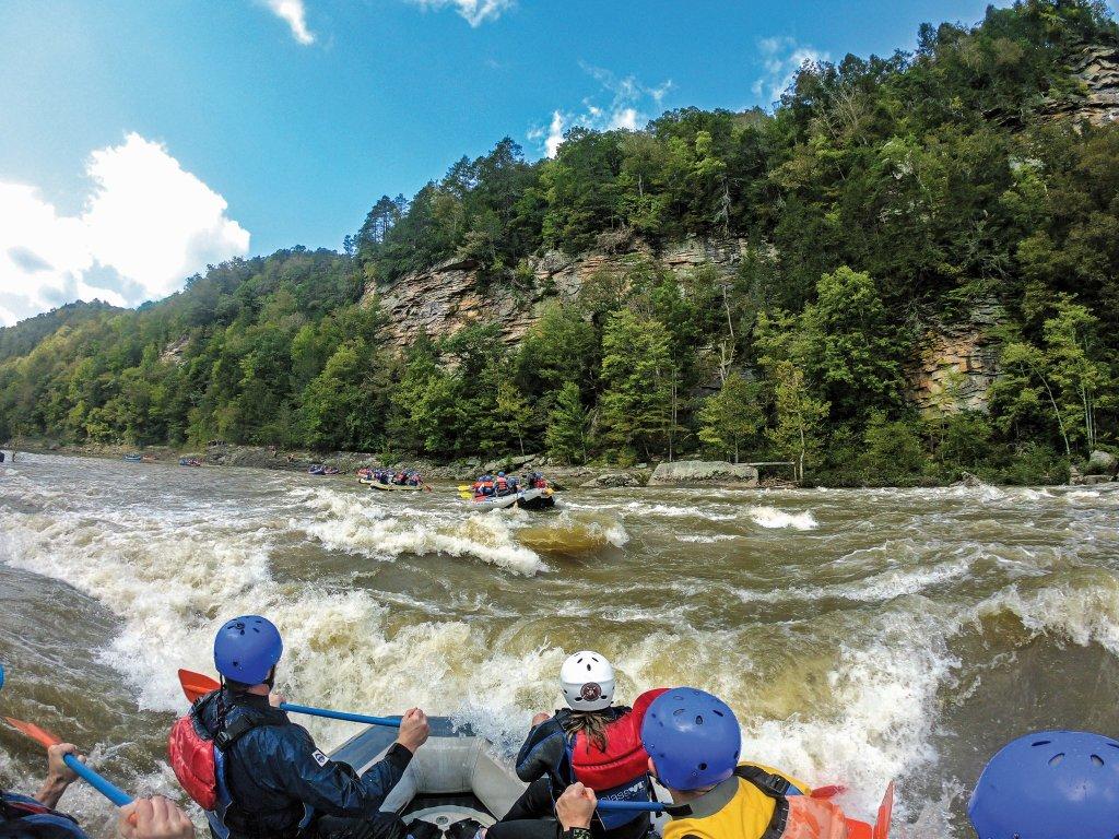 Lower Gauley: Splashies