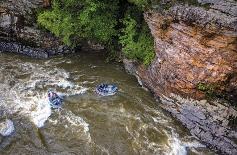 Lower Gauley: Canyon Doors