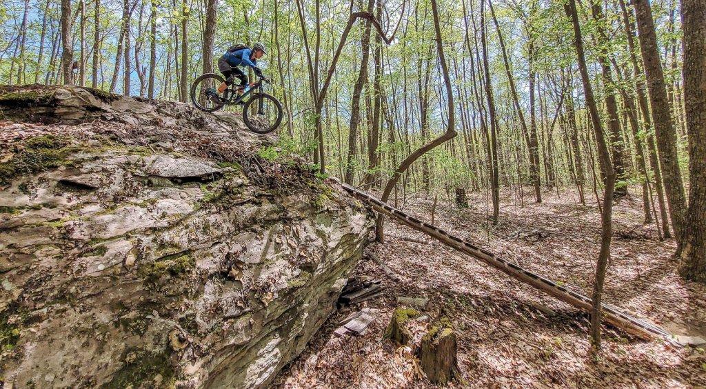 Wolf Creek Trails - Wooden Ramp