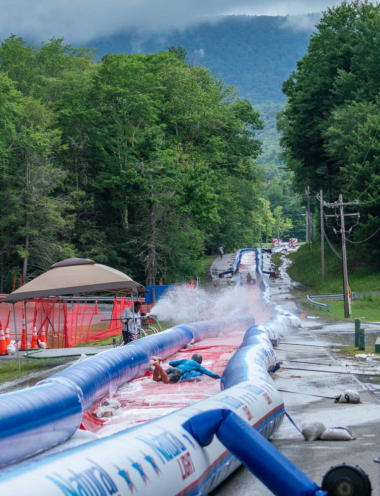 Canaan Slip and Slide Route