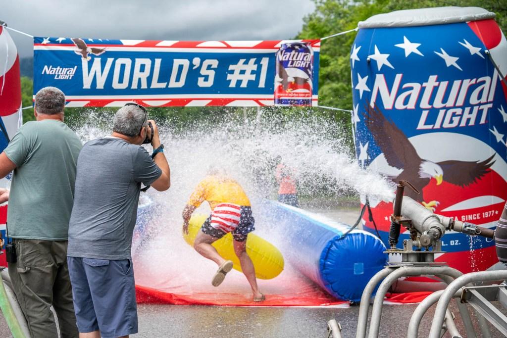 Slip and Slide World Record: Slide Entry