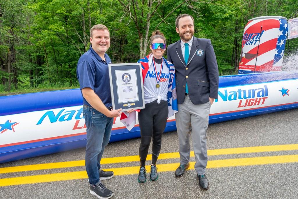 Slip and Slide World Record: Guinness Certificate