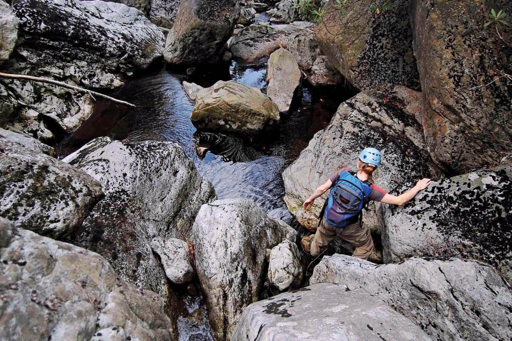 Creekyoneering - Creek Stomping