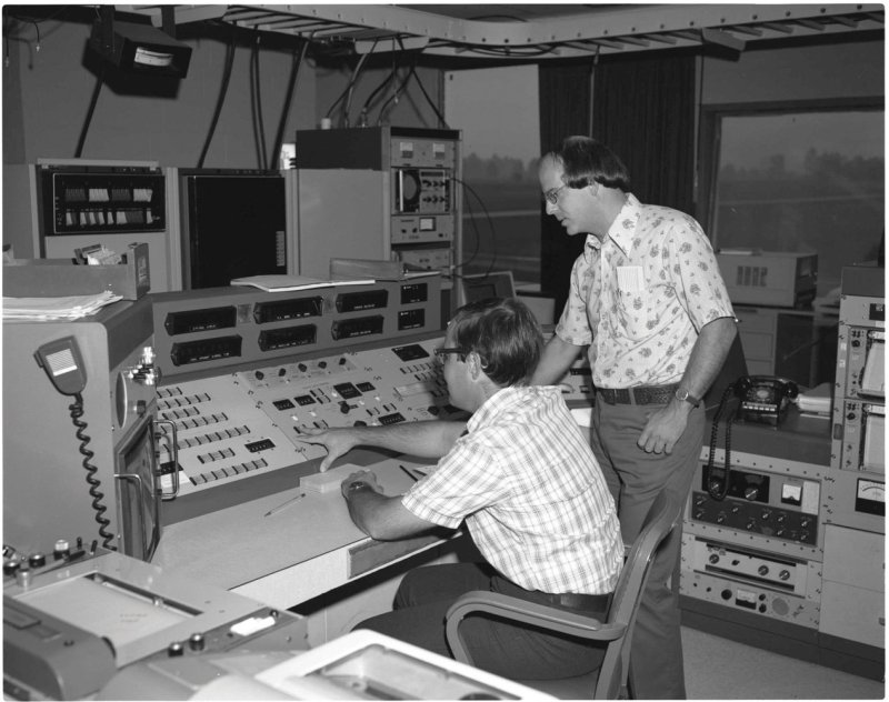 Green Bank Observatory: Control Room Circa 1970