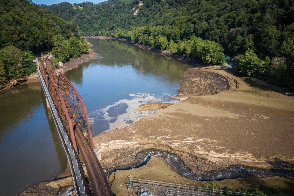 Lost New - Hawks Nest Lake Drawdown
