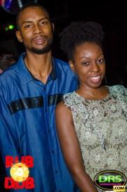 photo of Highlanda's Kahlil Wonda with Mrs. Wonda at Rub A Dub ATL Bob Marley Birthday Bash 2017