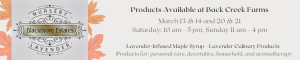 Highland County, Virginia, Blackthorn Lavender, lavender, products, maple, festival, weekends, event