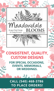Highland County, Virginia, Meadowdale Blooms, Erica Stephenson, flower, flowers, florist, floral designer, wedding, weddings, funeral, funerals, event, events, decoration, gift, gifts