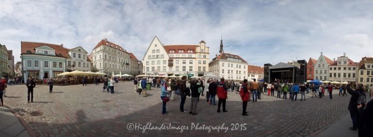 Town Square, Tallinn, Estonia.