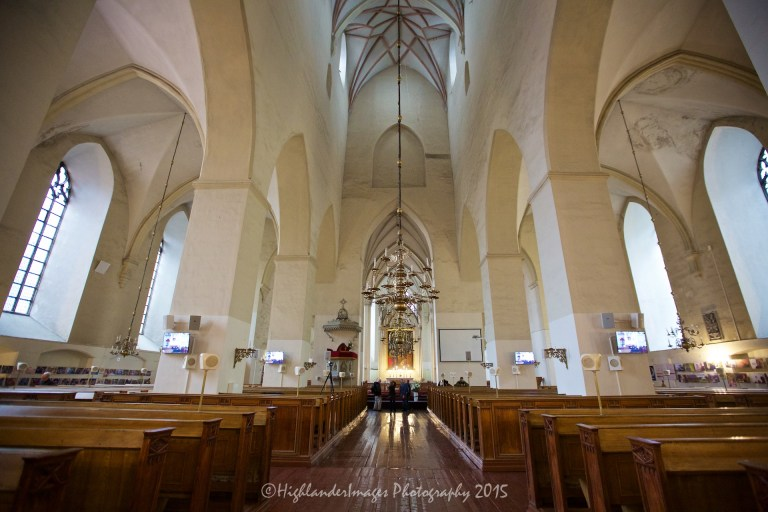 St. Olaf's Church, Tallinn, Estonia.